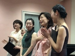 January 2018 with brilliant singers at Tokyo, Japan